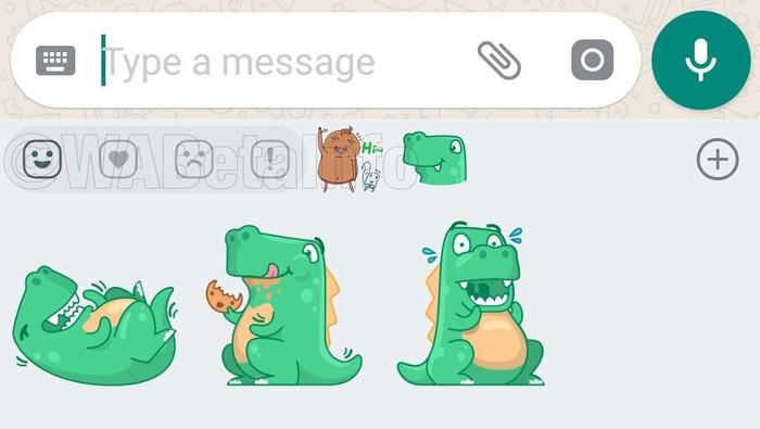 Begini Cara Pakai WhatsApp Stiker, Fitur Terbaru WhatsApp